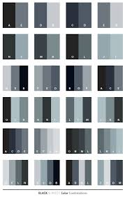 Black & White color combinations