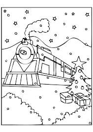 Polar Express Coloring Polar Express Coloring Pages Polar Express ...