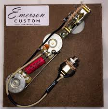 guitarslinger products emerson custom prewired kit t5 5 way emerson custom prewired kit t5 5 way nashville 500k fits to tele ®
