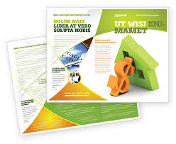 mortgage flyer template mortgage brochure mortgage money brochure template design and layout