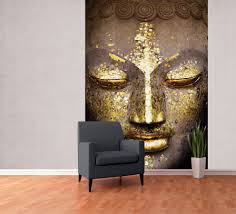 Buddha Face Fotobehang Behang Bestel Nu Op Europostersbe