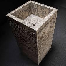 Marble pedestal sink Sink Vanity Custom Square Marble Pedestal Sink Wayfair Custom Square Marble Pedestal Sink Decora Loft