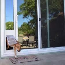 install dog door for glass sliding door
