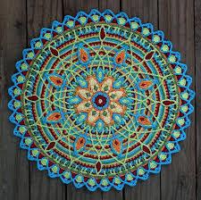 Free Crochet Mandala Pattern Best 48 Crochet Mandala Patterns Crochet Patterns How To Stitches