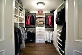 Bedroom Walk In Closet Designs Custom Decorating