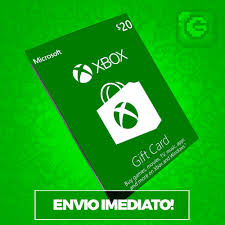 Microsoft Giftcard Microsoft Gift Card 20 Dolares Cartao Live 20 Dolares