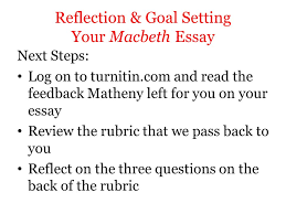 objectives reflect on your writing strengths and determine areas 11 reflection goal setting
