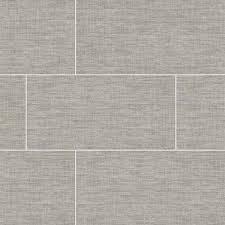 la grey linen look porcelain tile