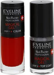 Eveline Cosmetics Nail Therapy Professional Gelový Lak Na Nehty Bez