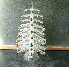 clear plastic table top vintage tabletop tree rless retro crystal pine discs for glass tops clea