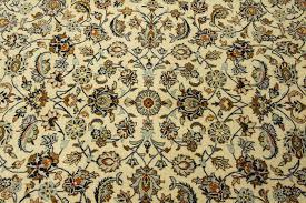 Tappeto Tessuto A Mano : Raffinato tappeto persiano kashan color panna