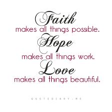Love Faith Hope Quotes Mesmerizing Love Faith Hope Quotes Simple Love Faith Hope Quotes Homean Quotes