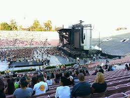 Rose Bowl Concert Seating Chart Rolling Stones Rose Bowl Section 19 H Row 47 Eminem And Rihanna Tour