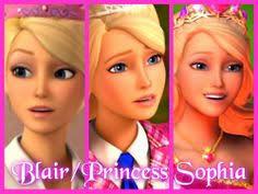 barbie princess charm fan art blair