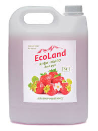 """<b>Жидкое</b> крем-<b>мыло</b> """"<b>Клубничный</b> мусс"""" ТМ """"<b>EcoLand</b>"""" 5 л <b>EcoLand</b> ..."""