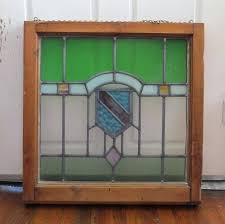 salvage stained glass antique lead stain window panel pane craftsman image 0 windows uk
