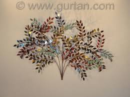 metal wall art trees and leaves
