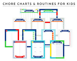 Interactive Chore Chart Printable Chore Charts For Kids The Homes I Have Made