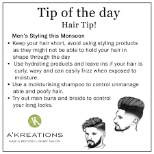 Mens Hair Styling Tips For Monsoon ...