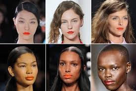 makeup best orange lipsticks for light dark skin tones spring 2017 trends