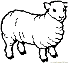 Small Picture Sheep Coloring Page Free Sheep Coloring Pages ColoringPages101com