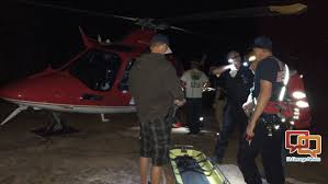 woman falls on easter sunset hike airlifted to hospital with injuries st george news