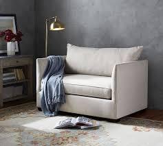 luna fabric twin sleeper sofa with