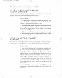 Letter Of Retirement Template Templatesz234