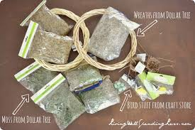 assemble your materials for the diy moss wreath gvine wreaths spanish moss fl