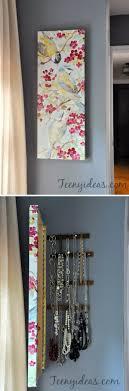 Jewelry Holder Wall Best 20 Jewelry Storage Ideas On Pinterest Necklace Holder Diy