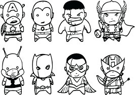 Free Avengers Coloring Pages Egydotnetinfo