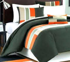 gray and orange comforter set dark green bedding sets orange and grey gray gorgeous comforter for 39