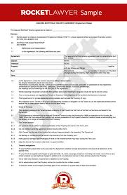 Sample Home Rental Agreement uk tenancy agreement template