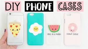 diy phone case compilation diy phone cases four easy cute ideas