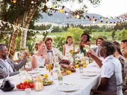 Wedding Meal Planner Outdoor Wedding Advice Food Network Planning A Wedding