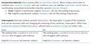 When To Use Comma When Do I Use Commas Cwi