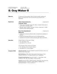 Personal Trainer Resume Tips Free Professional Cv Template Word Pint