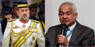 Image result for AG Tommy Thomas and Agong