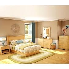 natural wood bedroom furniture south s wood panel headboard 4 piece bedroom set in natural maple natural wood bedroom furniture