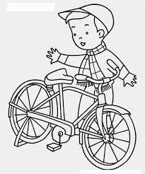 Small Picture Bike Coloring Pages to Encourage Kids Learn to Ride Coloring Pages