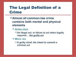Criminal Justice Definition Intro To Criminal Justice Chapter 4 Criminal Law Substance And