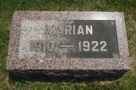 Marian Lowe (1910-1922) - Find A Grave Memorial