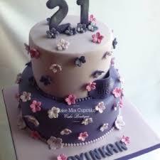 Girls 21st Birthday Cake Bake Mia Cupcake