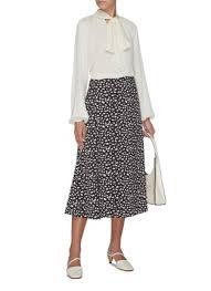 C Meo Collective Size Chart X Savislook Sway Floral Print Skirt