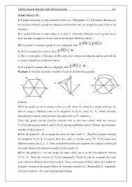 It is an assignment of labels traditionally called in this program, we generate a random graph and write the vertices and the edges to a file. Cs6702 Graph Theory And Applications Notes Pdf Book