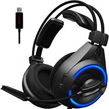 SENICC A6 USB Headset/Gaming Headset with ... - Amazon.com