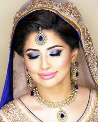 purple eye shade makeup for brides