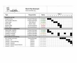 work plan examples work plan 40 great templates samples excel word