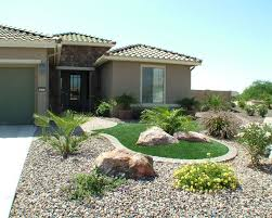 artificial turf landscape front yard