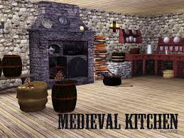 medieval kitchen on the sims resource sims 3 wall art with shinokcr s medieval kitchen